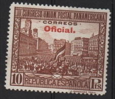 10p. Oficial ; Edifil No.629 Sin Fijasello ; Michel Nr.Dienstmarke 29A , Ohne Falz , No Usado - 1931-50 Nuevos & Fijasellos