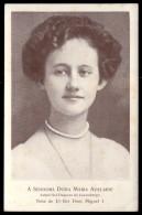 Senhora D.MARIA ADELAIDE BRAGANÇA VAN UDEN. Neta Rei D.Miguel I. Postal MONARQUIA PORTUGAL - Royal Families