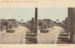 Carte Stereo Pompei - Cartes Stéréoscopiques
