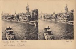 Carte Stereo France Paris Exposition 1900 - Cartes Stéréoscopiques