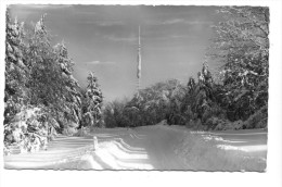 Nordhelle Mit Rob.-Kolb-Turm Bei Herscheid Im Sauerland, Winter, 1967. Kleinformat - Deutschland