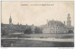 LANNION - Le Couvent Et La Chapelle Ste Anne - 1910 - Lannion