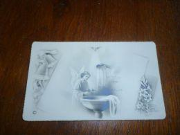 Souvenir Image Pieuse Baptême T Duhain Denuit Bray 1955 - Communion