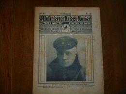 Kriegs Kurier N 30/3 Viville , Gare De Vouziers , St Quentin , - Kranten
