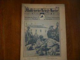 Kriegs Kurier N 33 Camp Prisonniers Döberitz , Ortelsbourg , Kolomea , Noyon , Kolmo , Camp De Sebdou , Monument Mort... - Sin Clasificación