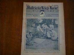 Kriegs Kurier N 51 Wilna , Iwangorod , Gallipoli - Newspapers
