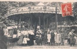 LIZY SUR OURCQ (77) LA FETE AU PARC - MANEGE BERTHEREAU - Lizy Sur Ourcq