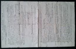 Ordre De Régiment 13 Octobre 1903  Régiment Près De Namur - Documenten