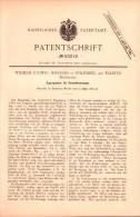 Original Patent - Wilhelm Ludwig Jespersen In Nyköbing Auf Falster , 1889 , Regulator Für Feuerung , Nykøbing Falster  ! - Historische Dokumente