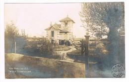D49. LES PONTS DE CE. Carte Photo.VILLA CHANTECLAIR. - Cartes Postales