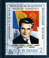 ++ RUMANIA / ROMANIA / ROUMANIE  Año 1988 Yvert Nr.3791 Nicolae Ceausescu   Usada - 1948-.... Republics