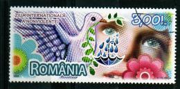 RUMANIA / ROMANIA / ROUMANIE Año 2009 Día Internacional De La No Violencia  Usada - 1948-.... Repúblicas