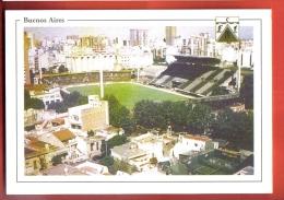 FODi-34 Buenos Aires Estadio Arquitecto Etcheverry Stadium Football Calcio Fussball, Soccer Avec équipe 1982 Non Circulé - Argentine