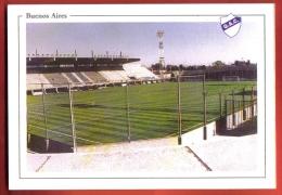 FODi-35 Buenos Aires Estadio Centenario  Quilmes  Stadium Football Calcio Fussball, Soccer Avec équipe 1978 Non Circulé - Argentinië