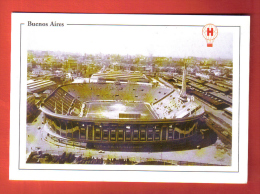 FODi-36 Buenos Aires Estadio Palacio Tomas Ducco Stadium Football Calcio Fussball, Soccer Avec équipe 1973 Non Circulé - Argentine
