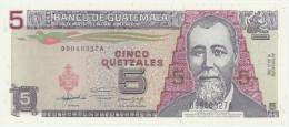 Guatemala 5 Quetzales 16.7.1992 Pick 81 UNC - Guatemala