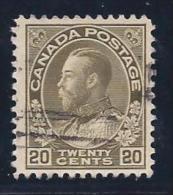 Canada, Scott # 119 Used King George V, 1925 - 1911-1935 Reinado De George V