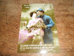 CPM Trésor Du Patrimoine Vous Souhaite Une Bonne Année 2014 - Couples