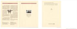 Germany 1995 Mi. 1803 FDC Folder, 100 Year Radio, Guglielmo Marconi, Engineer And Physicist, Nobel Prize - Telecom