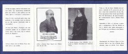 Cartão Memoria Regresso Restos Mortais REI D.MIGUEL II + RAINHA D.ADELAIDE 1967 MONARQUIA PORTUGAL - Familles Royales