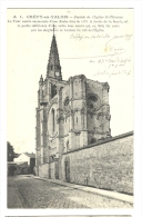 Cp, 60, Crépy-en-Valois, Façade De L'Eglise St-Thomas,écrite 1915 ? - Crepy En Valois