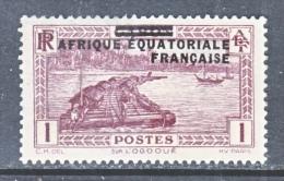 A.E.F.  1   * - Unused Stamps