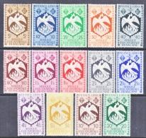 A.E.F.  142-55   * - Unused Stamps