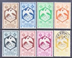 A.E.F.  142-48    *  (o) - Unused Stamps