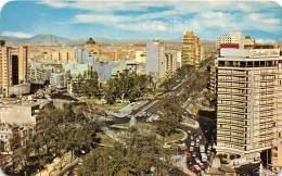 17968 Mexico, The Paseo de la Reforma Boulevard, Cuauhtemoc Traffic Circle in foreground