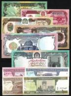Afghanistan Lot De 10 Billets Différents Neufs 1er Choix - 10 Banknotes UNC - Monnaies & Billets