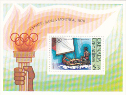 Grenada Grenadines 1976 Montreal Olympic Games Souvenir Sheet MNH - Grenada (1974-...)