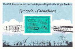 Grenada Grenadines 1978 75th Anniversary Of First Powered Flight Souvenir Sheet MNH - Grenada (1974-...)