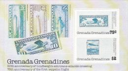 Grenada Grenadines 1978 Lindberg Flight Souvenir Sheet MNH - Grenada (1974-...)