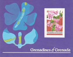 Grenada Grenadines 1979 Flowers Souvenir Sheet MNH - Grenada (1974-...)