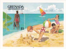 Grenada Grenadines 1985 Water Sports Souvenir Sheet MNH - Grenada (1974-...)