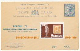 Jamaica 1979 Rowland Hill  Souvenir Sheet MNH - Jamaica (1962-...)