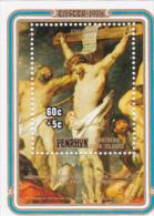 Penrhyn 1978 Easter,Rubens,60c Christ Between Twio Thieves Charity Souvenir Sheet MNH - Penrhyn