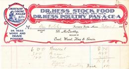 U.S. HISTORY  LETTER  HEAD    TURNERS  FALLS,  MASS  1909 - United States