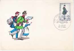 FRANCE   MAXICARD  FDC   EXPO.  P.T.T.   STAMP DAY - France