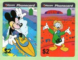 Australia - 1994 Disney Set (2) Mickey & Donald - AUS-M-188/9 - (C9442) - Australia