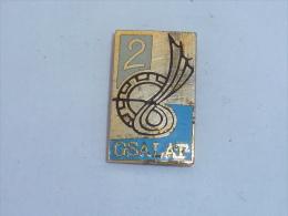 Pin's INSIGNE 2° G.S.A.L.A.T., A FRIEDRICHSHAFEN - Army