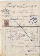 #3461 Gastronomy, Judaica, 1910, Invoice Transylvania Cannery Deva To Sallak Dezso Dealer In Kolozsvar,Transylvania (1) - Facturen & Commerciële Documenten