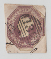 Great Britain   QV  6d   Embossed  CTS  #  57600 - 1840-1901 (Victoria)