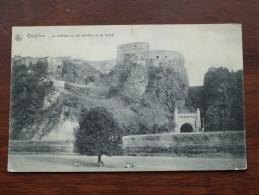 Le Château Vu De Derrière Et Le Tunnel - Anno 1912 ( Zie Foto Voor Details ) !! - Bouillon