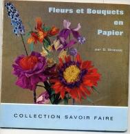 FLEURS ET BOUQUETS EN PAPIER 1969 - Serviettes Papier à Motif