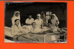 Militaires - Hôpital - Croix Rouge (pliée En Haut à Gauche) - Régiments