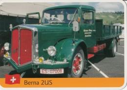 Truck BERNA 2US Card 2scans 185 - Camions & Poids Lourds