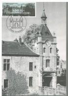 K283 Carte Maximum 3074 - Les Châteaux De Belgique - Ecaussinnes Lalaing (Kasteel, Tourisme, Toerisme) - Kastelen