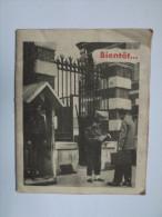 PLAQUETTE - BIENT�T TU VAS �TRE SOLDAT + RECU - SERVICE MILITAIRE -1956 - CENTRE DE SELECTION -
