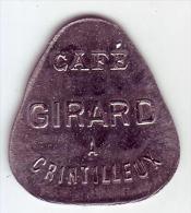 Monnaie De Nécessité - LOIRE 42 - Craintilleux. Café GIRARD. 10 C - - Noodgeld